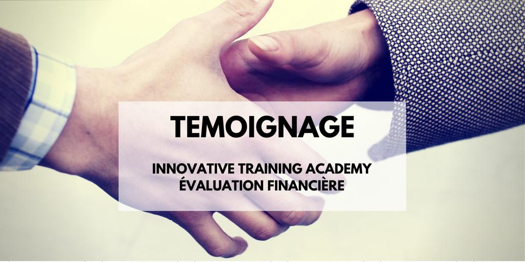 témoignage ITAcademy - Valorisation financière logiciel, propriété intellectuelle