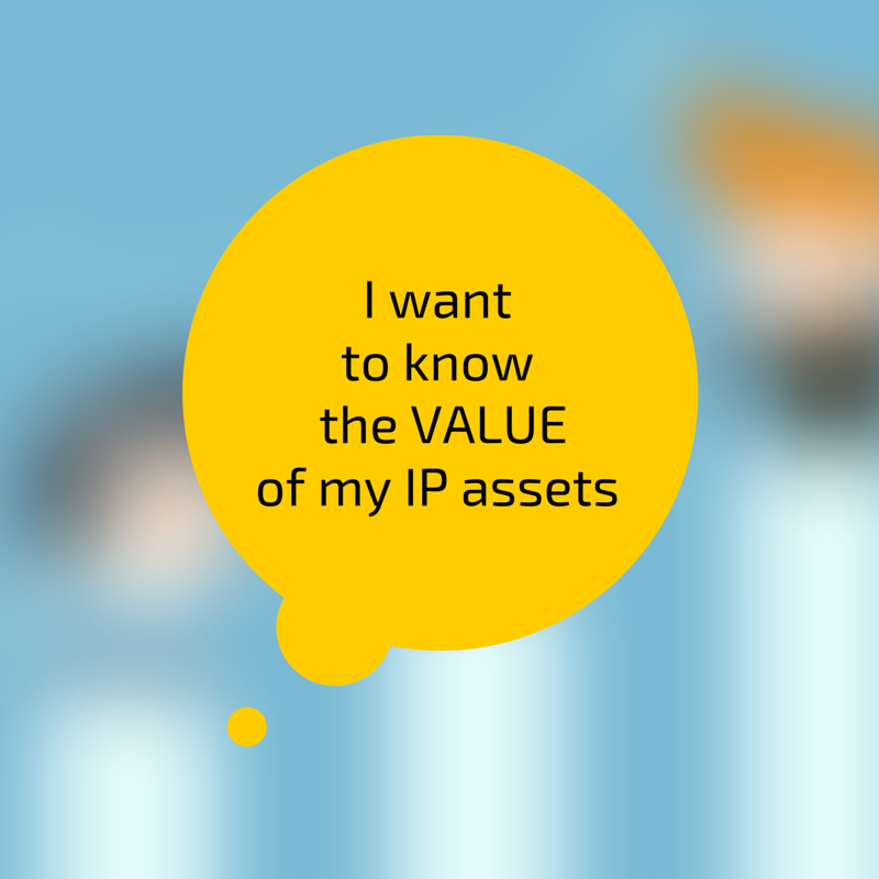 I want to know the value of my IP assets