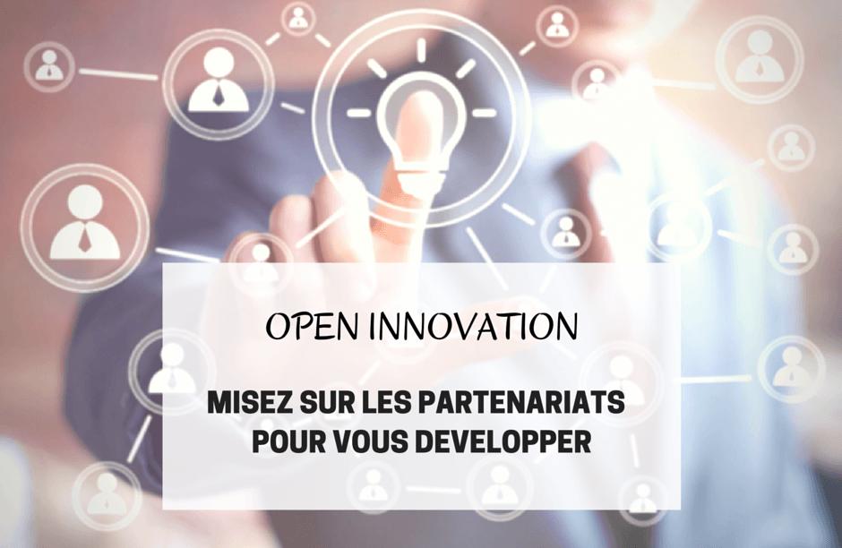 open innovation partenariats