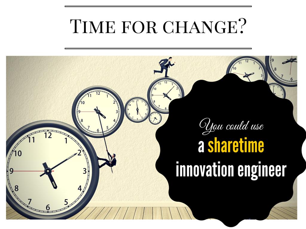innovation à temps partagé