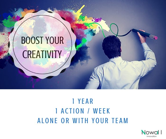 boost your creativity at work