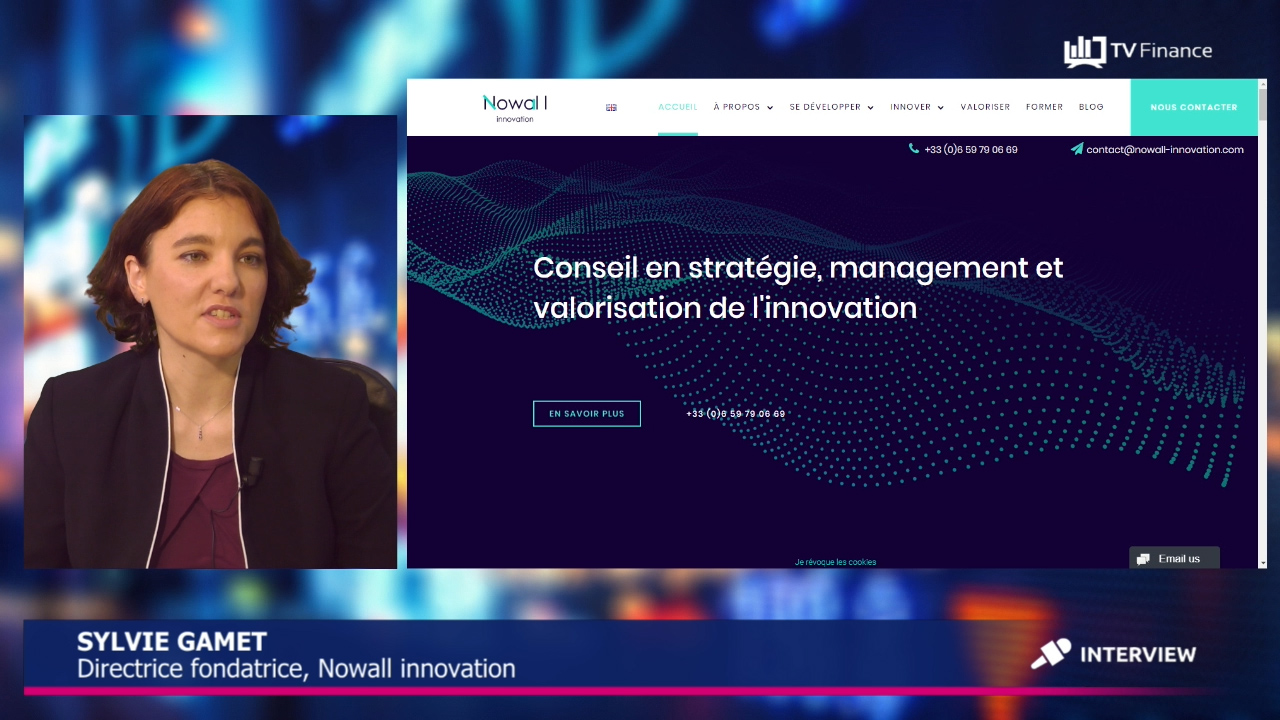 nowall innovation sylvie gamet interview tv